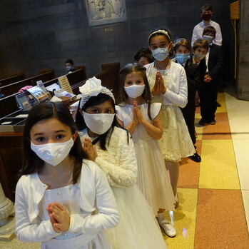 10 Students Receive First Holy Communion - UPDATE: Click Here to See Photos!