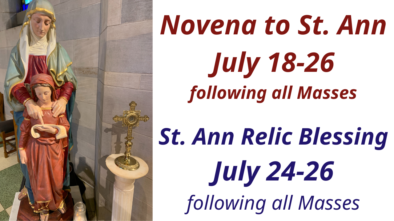 Who Is St. Ann?