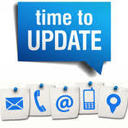 Let us know.....Update your Contact Information. Click here.