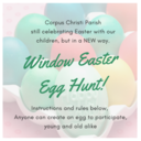 WINDOW EASTER EGG HUNT -- April 6 -13th