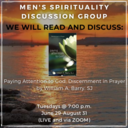 Men's Spirituality Discussion Group