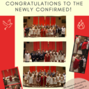 Congratulations to the Newly Confirmed!