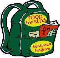 Middle School RE students Need Food Items to fill Back Packs