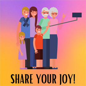 SHARE YOUR JOY ... AND MAKE SOMEONE HAPPY