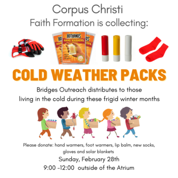 Cold Weather Packs Collection