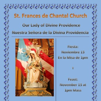 Novena of Our Lady of Divine Providence