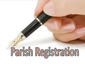 PARISH REGISTRATION / REGISTRO PARROQUIAL