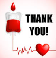 MOTHER'S DAY BLOOD DRIVE RESULT / RESULTADOS DE LA DONACION DE SANGRE