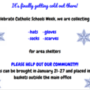 Collecting hats, scarves, gloves and socks
