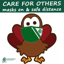 Masks On & Safe Distancing this Thanksgiving