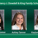 Winners of the Nancy J. Dowdell and The King Family Scholarship