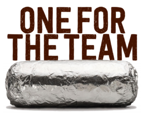 Chipotle Night for EC.EXE Elyria Catholic Robotics Team - Monday, August 12