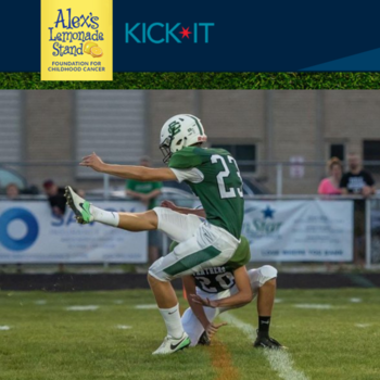 Senior Stephen Gabel - Kicking Cancer in the Grass!