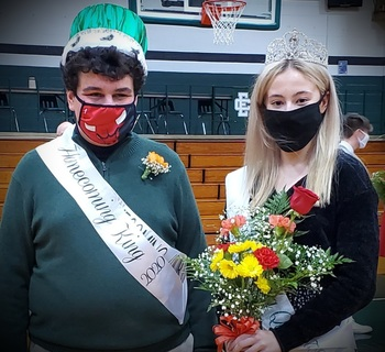 2020 Homecoming King & Queen and Court