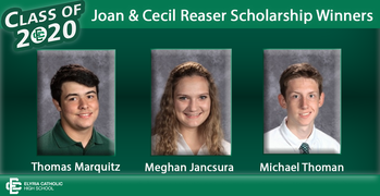 EC Students are Joan & Cecil Reaser Scholarship Winners