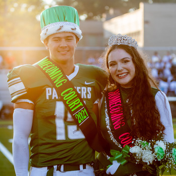 2021 Homecoming King & Queen