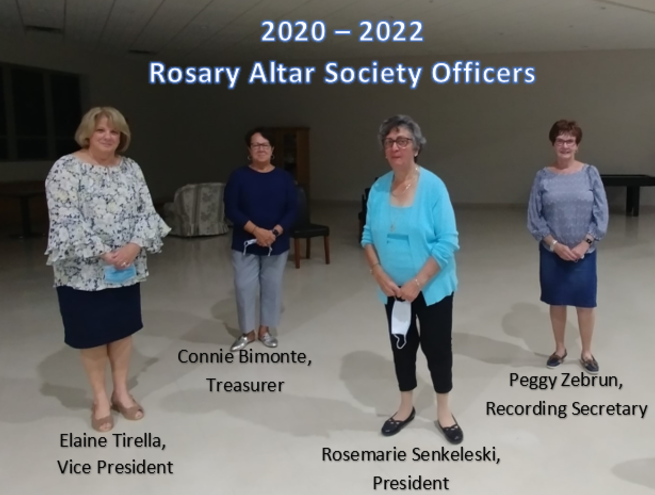 Newly Elected Officers for 2020-2021