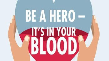 The Knights of Columbus Blood Drive