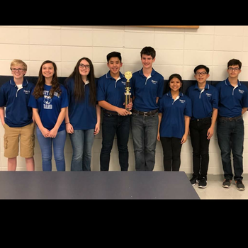 Trinity Quiz Bowl Team Wins First Place