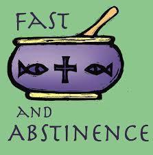 Lenten Regulations Concerning Fasting and Abstinence