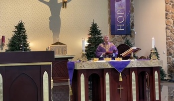 VIDEO - Fourth Sunday of Advent Mass 12 20 2020