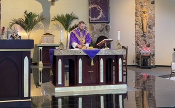 VIDEO - Sunday Mass Fifth Sunday of Lent 3 21 2021