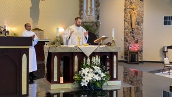 VIDEO - Sunday Mass Fifth Sunday of Easter 5 2 2021