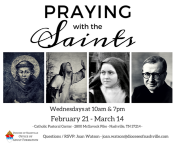 Spring Series: Praying with the Saints