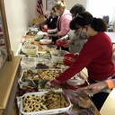 Sodality Prepares Over 60 Tins of Christmas Cookies