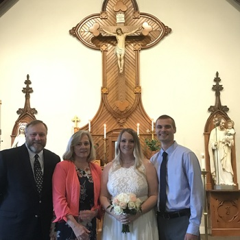 Congratulations to Mr. & Mrs. Nathan and Kristin Klakring!