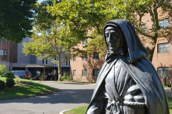 Knights of Columbus collecting items in support of the Little Sisters of the Poor