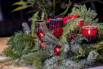 Family Advent Wreath Making