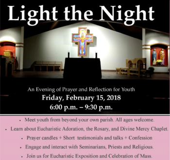Light the Night at Prince of Peace