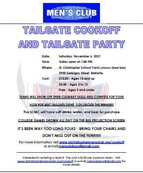 Tailgate Cookoff & Tailgate Party