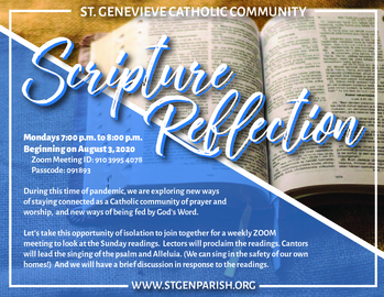 Scripture Reflection