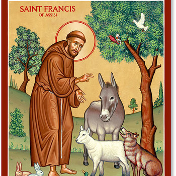 Feast of Saint Francis of Assisi Prayer Service