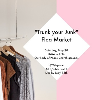 OLP Flea Market: Trunk Your Junk!