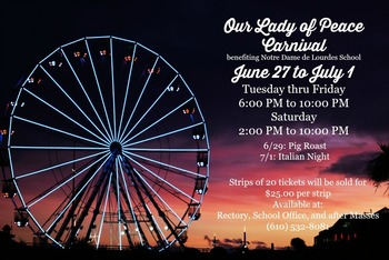 Our Lady of Peace Parish Carnival