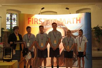 First in Math Results: 2nd in the nation for the 2nd year in a row!