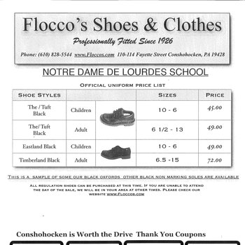 Flocco's Shoes
