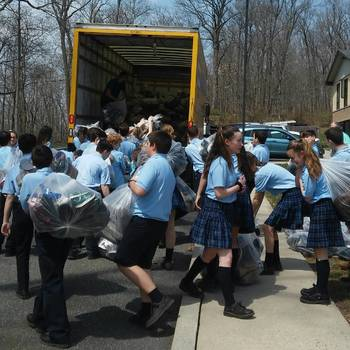 Saint Mary Catholic School Drive!