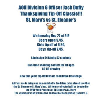 Officer Jack Duffy Thanksgiving Tip Off Classic