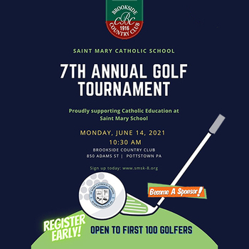 Golf Outing set for JUNE 14th at Brookside Country Club