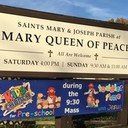 New Sign Installed at Mary Queen of Peace