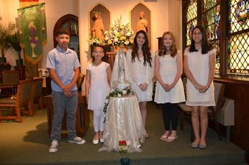 Our Lady of Fatima Celebration