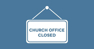 Parish Office Closing Dates