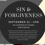 Interfaith clergy panel discussion on Sin & Forgiveness