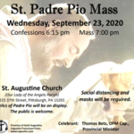 Mass for the Feast of Padre Pio