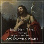 Young Adult Figure Drawing Night, hosted by the Assisi Arts Community