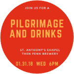 Pilgrimage and Drinks